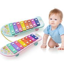 Детская музыкальная игрушка ударное пианино пластиковый музыкальный
