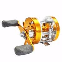 Fundição carretel de pesca de gelo fundido tambor carretel de pesca carretel de pesca carretel de pesca de água salgada carretel de pesca bait casting yuyu