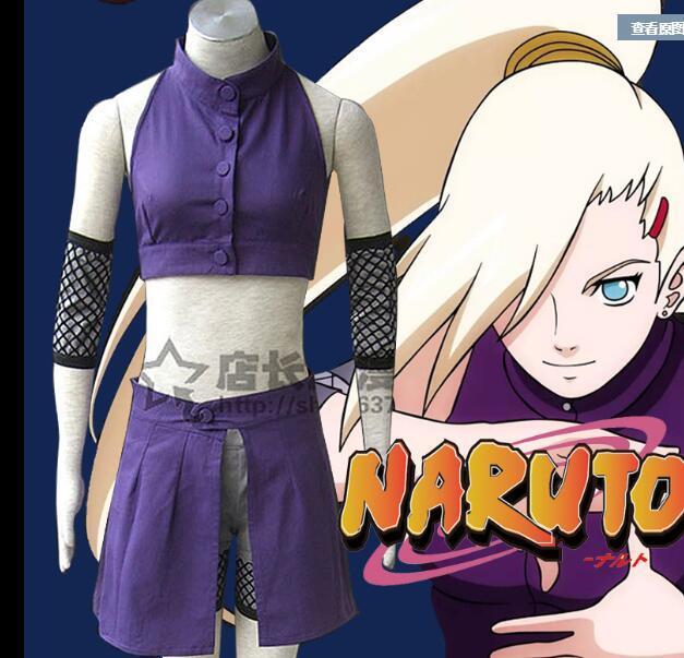 Big Sale~Naruto Yamanaka Ino Cosplay Costume