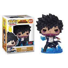 Funko pop Dabi mi héroe Academia #637 Original de vinilo Edición Limitada muñecas figura de Anime en miniatura juguetes de los niños para niños regalos