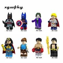 Batman Spider Man Far From Home Figure Super Hero Mysterio Noir Gwenom Building Blocks Bricks Toys For Child jm129