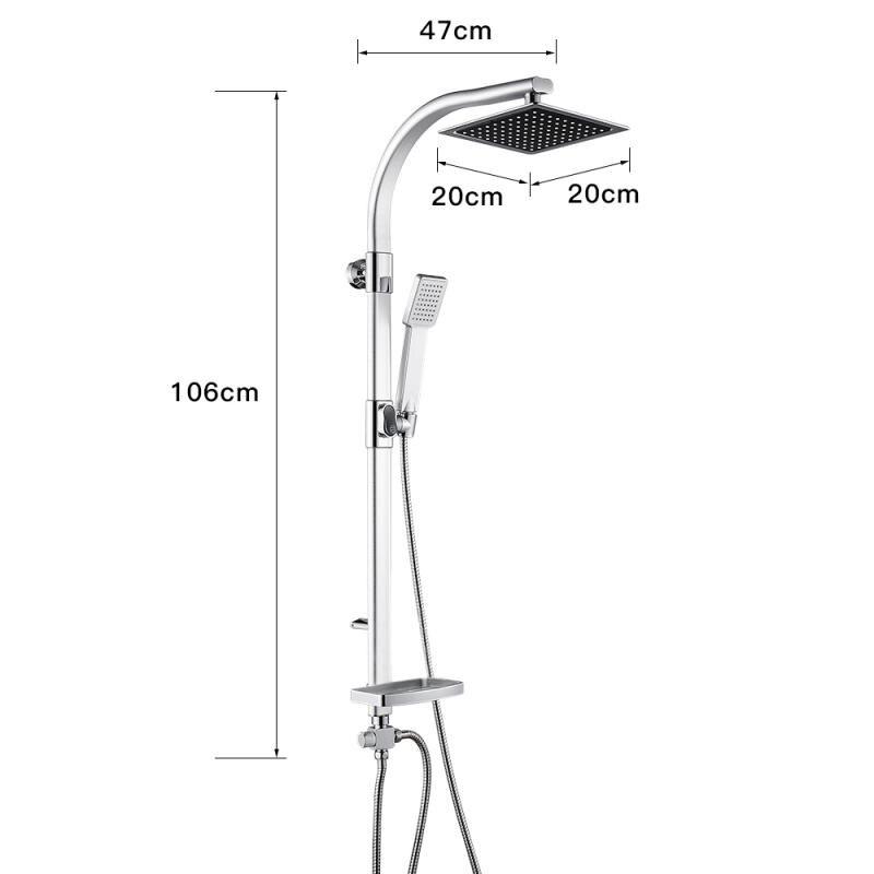 Hf2794c13dcc5478eb63bc3ec020aeb31z Aluminum Alloy Shower System Set Bathtub Thermostatic Shower Mixer With Hand Shower Soap Box Bathroom Faucets Shower Set HWC