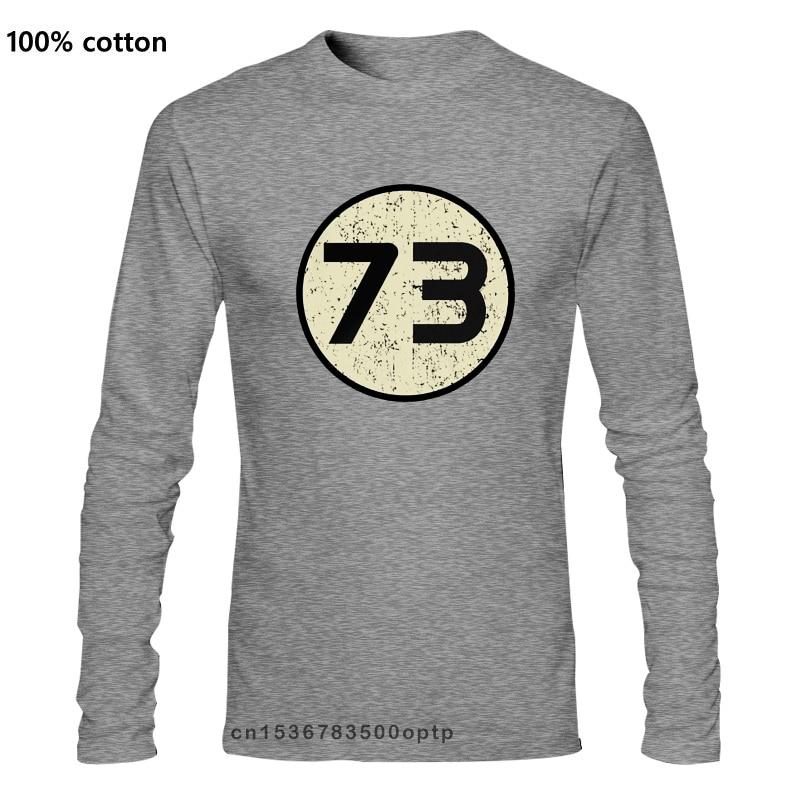 73 логотип-Мужская футболка-Шелдон-ТВ 1973 Бесплатная UK P & P Новые футболки Забавные топы футболки новые Забавные топы унисекс