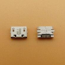 50pcs 500pcs charge connector micro usb jack socket charging port for Nokia 207 208 220 Dual SIM 230 Asha 500 503 Asha 710 Lumia