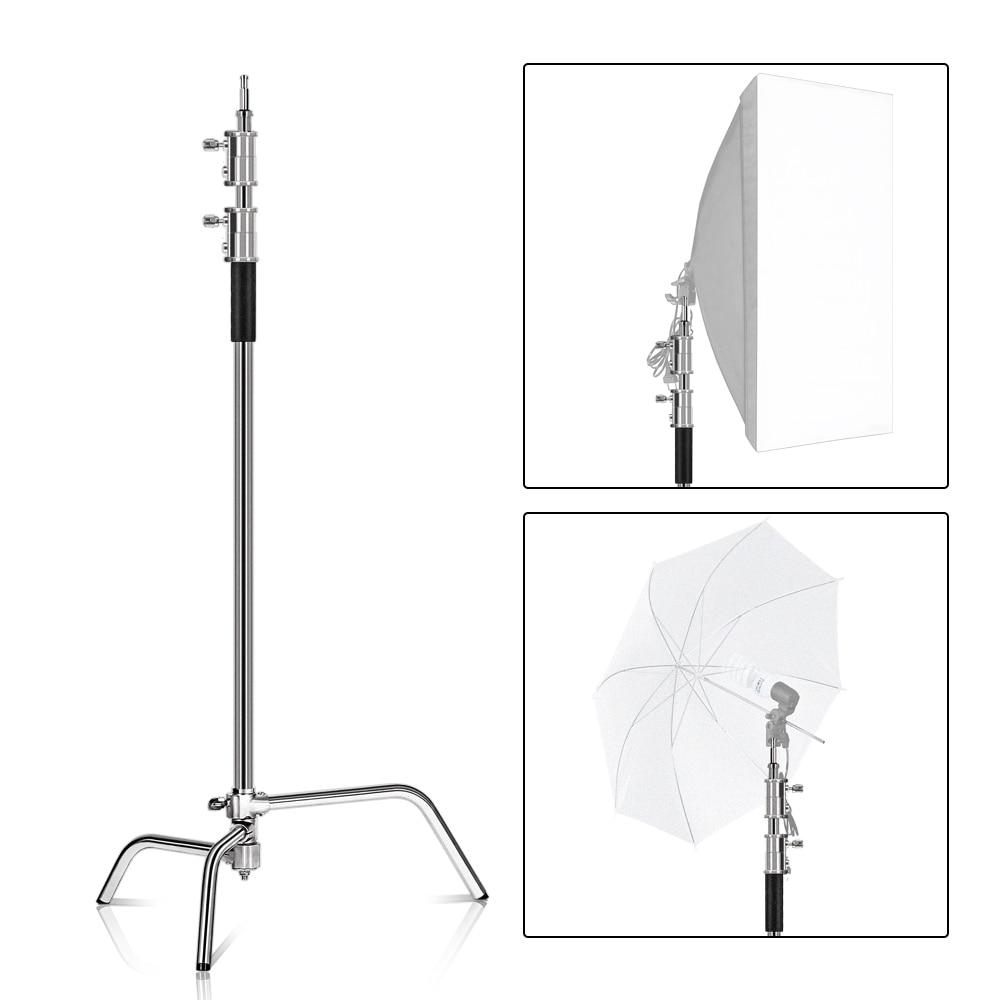 Suport C 100% metal 8,53 ft / 2,6 m C cu braț braț suport - Camera și fotografia - Fotografie 4