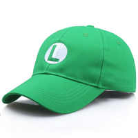 Gorras de Super Mario Odyssey Luigi Bros, sombrero de béisbol de Anime, accesorios de Cosplay, regalos de Navidad, sombreros de Mario, Dropshipping