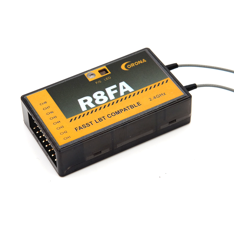 Image 4 - Corona F4FA R6FA F8FA 2.4Ghz FUTABA 10C 12FG 14SG 16SZ 18SZ Fasst Compatible Receiver-in Parts & Accessories from Toys & Hobbies