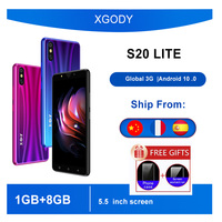 XGODY S20LITE 3G Smartphone 1GB de RAM 8GB ROM 5,5