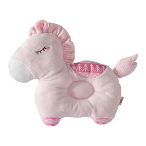 Pillow Protection-Support Baby Sleep-Head Anti-Rollover Cotton Unicorn Cartoon Soft Lovely