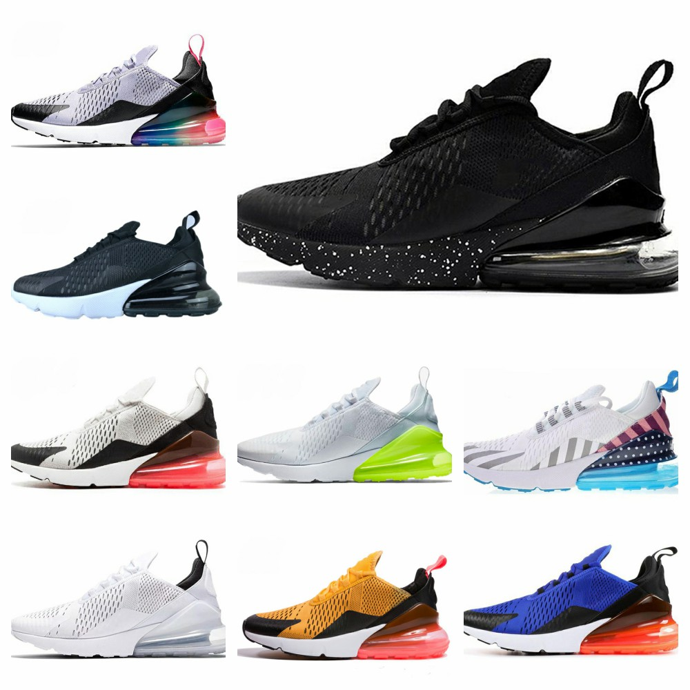 2020 27c Men's Running Shoes Black And White Matching Sneaker Mesh Fabric Breathable Lightweight Women's Shoes