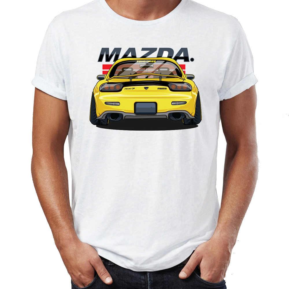 Men's T Shirt Skyline GTR Honda EK9 Mazda RX7 Mitshubishi EVO Japanese Sporty Legends Awesome Artwork Printed Tee