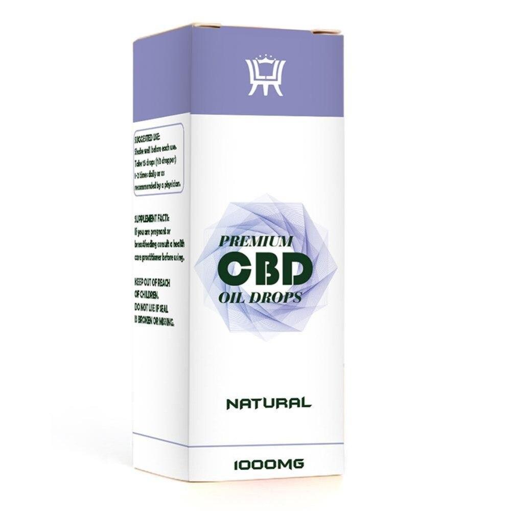Organic CBD Hemp Oil Essential Oils Herbal Drops