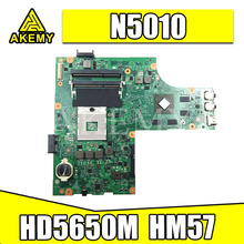 Laptop Motherboard N5010 DELL DDR3 052F31 for Inspiron 15R Hm57/Ddr3/Hd5650 1GB