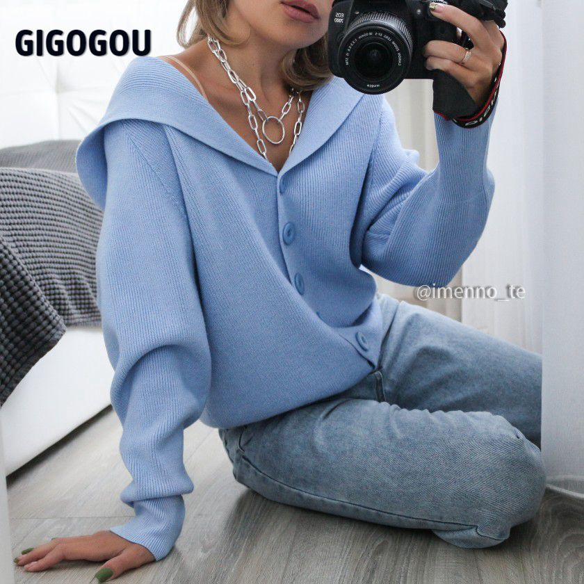 GIGOGOU Hooded Women Cardigan Sweater 2020 Short Preppy Style Campus Student Cardigans Knitted Soft Female Jumpers Top Outfits