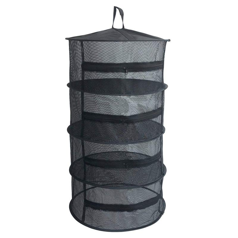 Practical Boutique Herb Drying Net With Zippers Herb Dryer Mesh Tray Drying Rack Flowers Buds