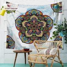 Slowdream Bohemian Table Sofa Cover Picnic Mats Tapestry Hanging On Wall Ceiling Thick Flannel Blanket Beach Towel Bed Sheet(China)