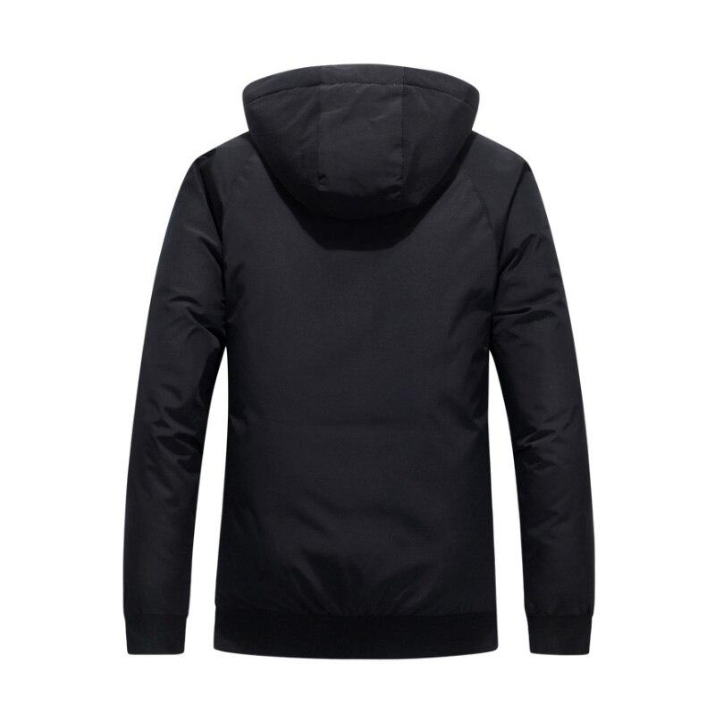 Cotton-padded Men's   Coat   Winter 2019 New Thickened Fashion Popular Logo Cotton Jacket Short Cargo   Down   Jacket Men   Down     Coats