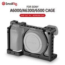 Petit stabilisateur de Cage de caméra A6300 pour Sony A6300/pour Sony A6000 / Nex 7 caméra avec trous de filetage pour montage sur chaussures pour les Options de bricolage