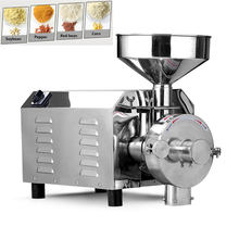 3000W Commercial Fine Powder Grinder/Electric Herbs Spice Corn Coconut Cereal Powder Grinding/Grain Maize Powder Milling Machine