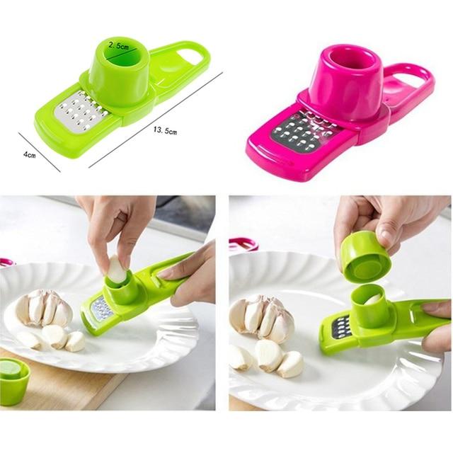 Press Ginger Garlic crusher Garlic Cutter Grinder Garlic Chopper Kitchen Accessories  6