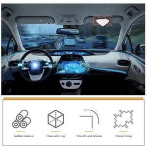 Image 5 - עור מפוצל מפית מחזיק בלינג בלינג תיק צורת רכב רקמות מקרה עבור