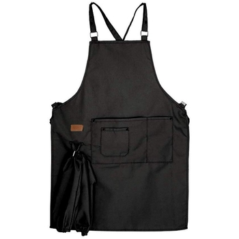 Barber Unisex Aprons Women Men Adjustable Kitchen Aprons for Cooking Baking Restaurant Cooking Sleeveless Aprons фото