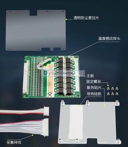 Image 5 - 24S 86V 72V 50A 40A 30A 18650 Pin Lithium Ban Bảo Vệ BMS Cao Cấp Li ion LiFePO4 20S 22S 16S W Cân Bằng Đèn Báo