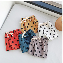 Pants Shorts Boys Toddler Girls' Cotton Summer Children's Cute Casual Dot