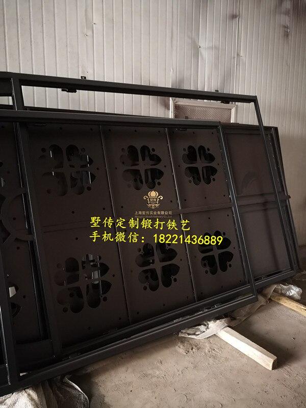 Shanghai Hench Brand China Factory 100% Custom Made Sale Australia Single Iron Front Door