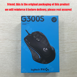 Image 5 - Проводная игровая мышь Logitech G300S с 2500DPI 9 перезаряжаемыми программируемыми кнопками для ПК/ноутбука, геймерская мышь, предназначенная для MMO