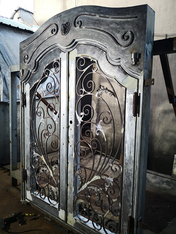Shanghai Hench Brand China Factory 100% Custom Made Sale Australia Luxry Iron Doors