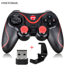Bluetooth Gamepad for Android Wireless Joystick Game Controller Bluetooth Joystick For Mobile Phone Tablet TV Box Holder For PC lefant g6 wireless bluetooth gamepad joystick controller for android smartphone tablet vr pc tv box ps3
