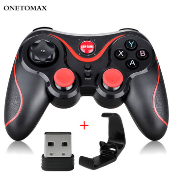 Bluetooth Gamepad for Android Wireless Joystick Game Controller Bluetooth Joystick For Mobile Phone Tablet TV Box Holder For PC dishykooker wireless bluetooth game controller for iphone android phone tablet pc gaming controle joystick gamepad joypad