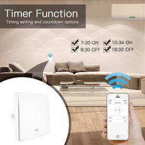 Image 5 - WiFi חכם לדחוף כפתור מתג 2 דרך RF433 קיר פנל משדר ערכת חכם חיים Tuya App בקרת עובד עם alexa Google בית