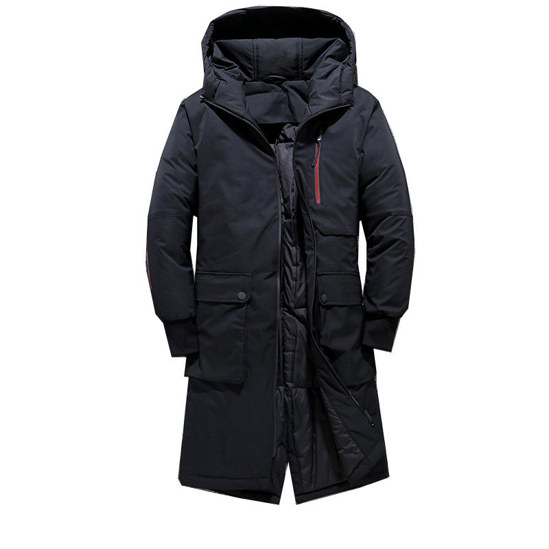 Generic Mens Stand Collar Outwear Packable Down Jacket Coat