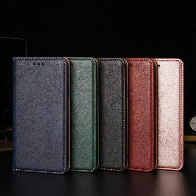 Étui à rabat Pour Redmi Note 9 8 8T 7 6 5 Pro 4X Luxe Étui En Cuir Couverture Magnétique Sur Redmi 3S 4 4A 10X 5 5A 6 6A 7 8A Souple Coque 1