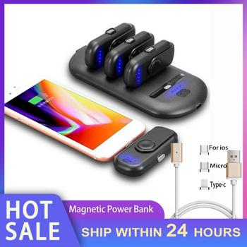 In Stock Mini Magnetic Power Bank Emergency Mobile Power Bank Magnetic Portable Mobile Fast Charging Power Bank Dropshipping Hot