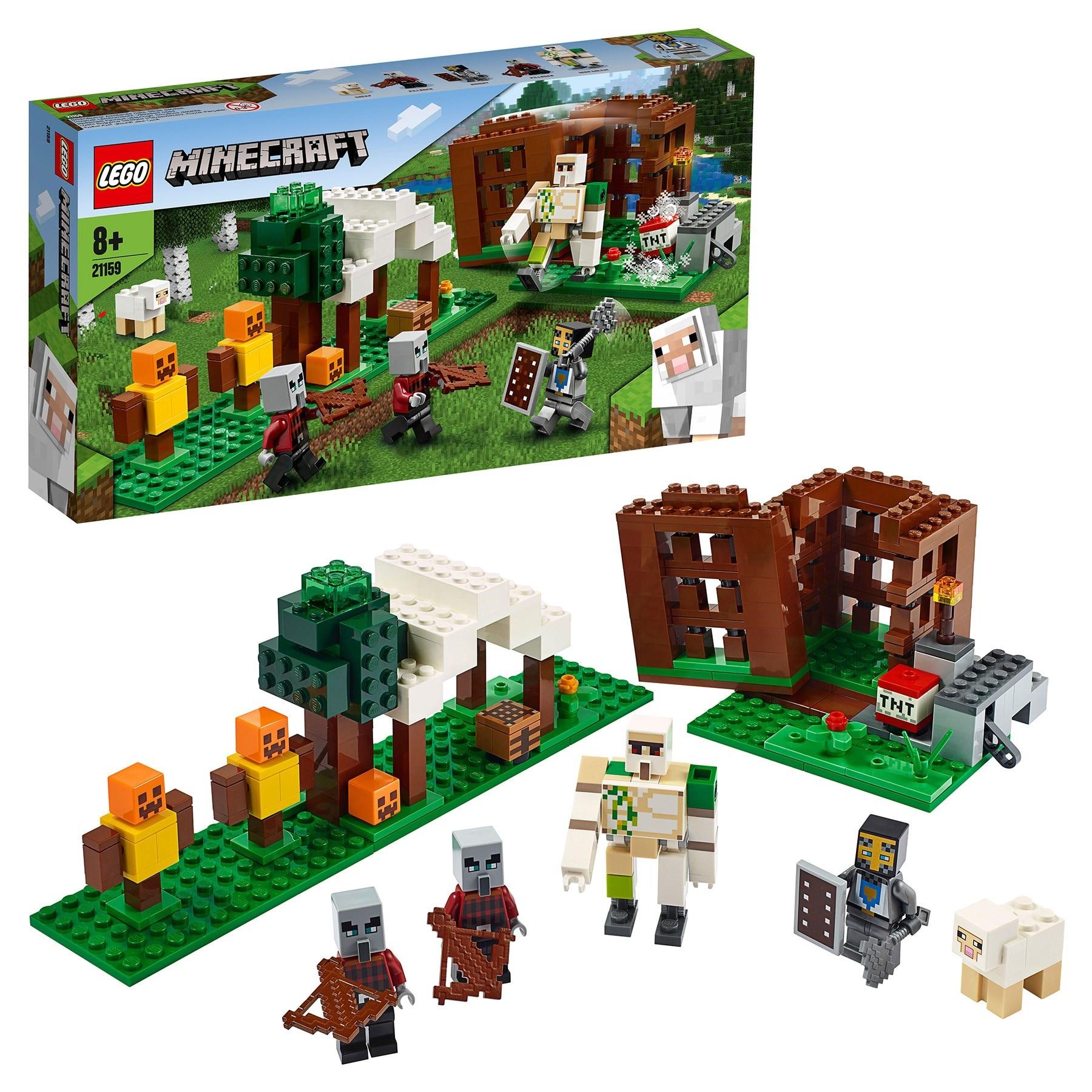 Designer Lego Minecraft 21159 Outpost Robbers