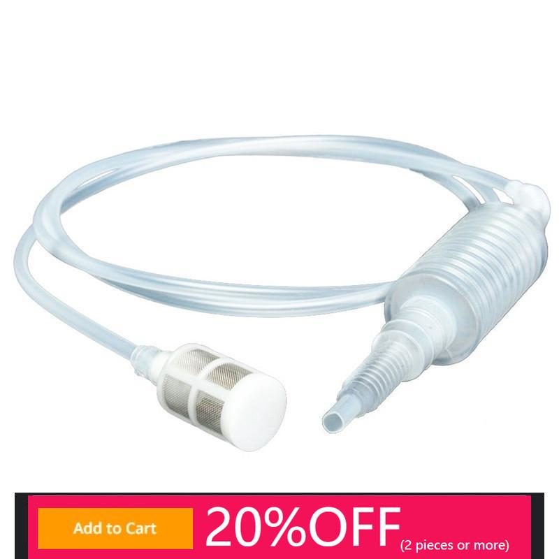 New 2 M Home Brewing Siphon Hose Wine Beer Making Tool Brewing Food Grade Materials plastic beer chiller