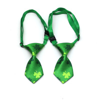50/100pcs Dog Accessories Pet Supplies Green Pet Dog Tie Bowties Samll Dog Neckties For Pet Dog St. Parkrete Groong Products