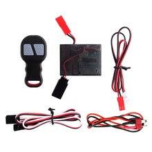 RC Car kabestan elektryczny pilot bezprzewodowy odbiór dla 1/10 gąsienica RC Traxxas TRX4 Axial SCX10 90046 D90 Tamiya CC01