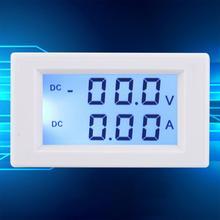 Напряжение измеритель тока D85-3050 цифровой вольтметр постоянного тока Амперметр Вольт Ампер метр DC0-199.9V DC0-10.00A