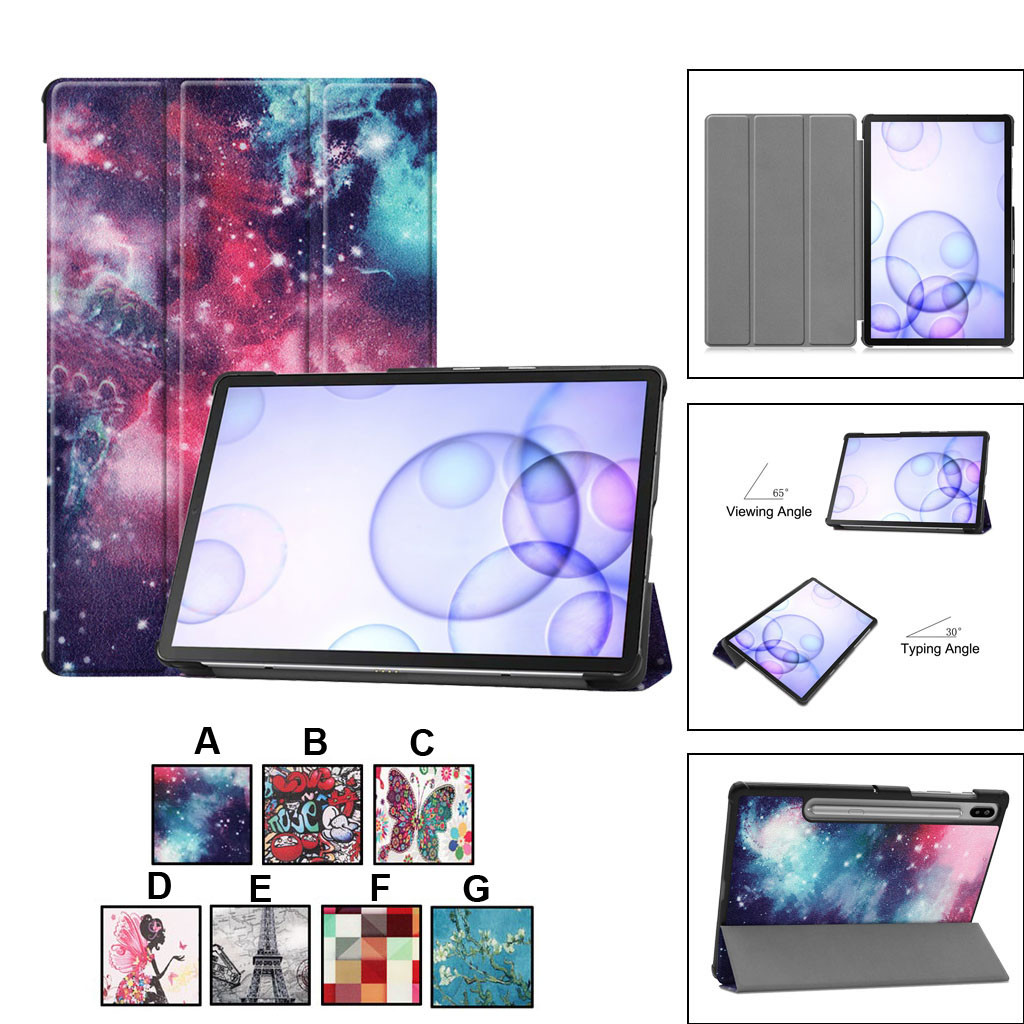 2019 Tablet Case For Samsung Galaxy Tab S6 10.5 (T860/T865) Leather Slim Cover Slim Stand Leather Case Cover NEW HOTG20