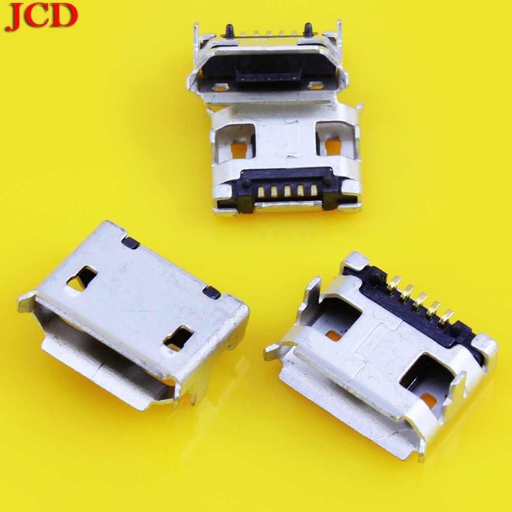 JCD Micro usb зарядка данных разъем питания для Coolpad зарядное устройство разъем для lenovo A2107 A2207 планшет MicroUSB разъем для zte