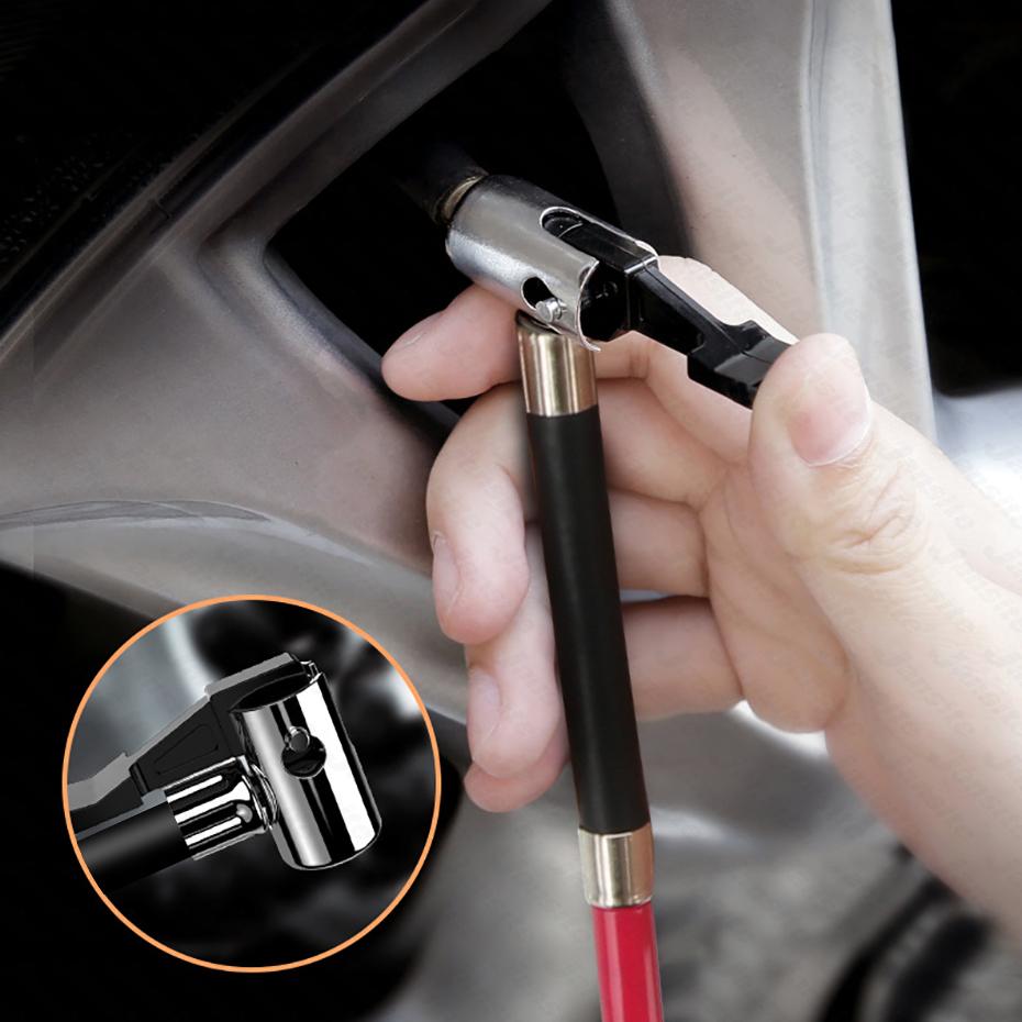 Многофункциональный портативный надувной насос для шин автомобильный