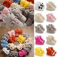 Pudcoco/в наличии США; Бесплатная доставка; нескользящая обувь для новорожденных девочек; обувь для новорожденных; зимние ботинки