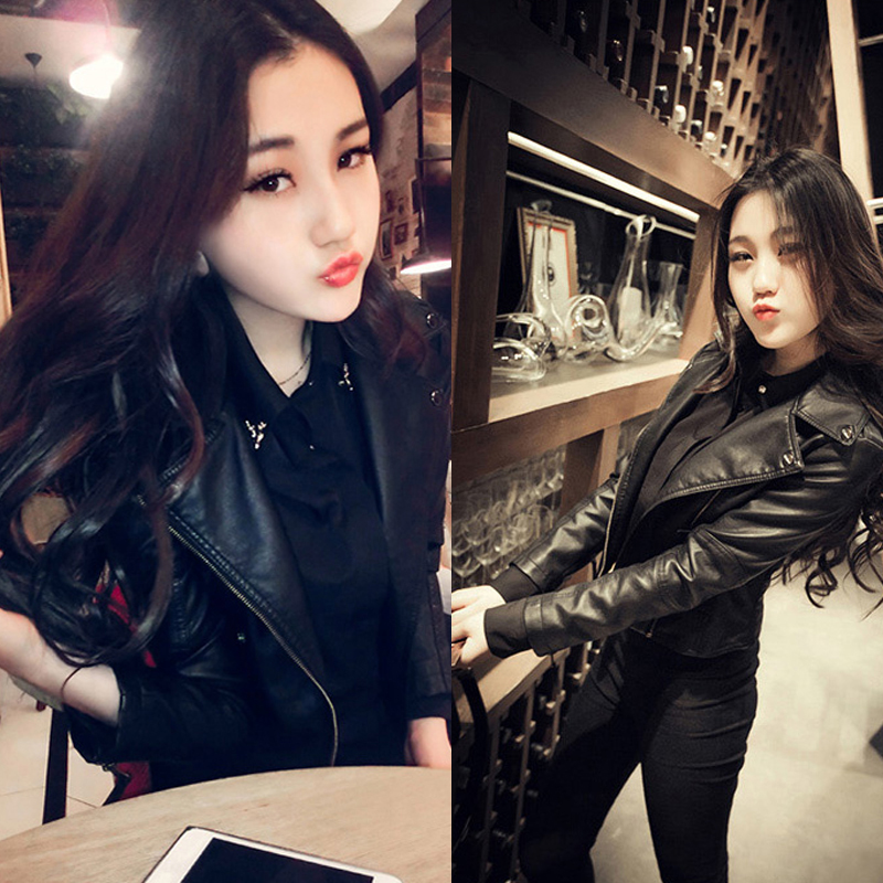 Simple Style Genuine Leather Womens Casual Jackets Plus Size Female Soft Sheepskin Street Jacket Sales