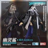 ¡Anime! Arknights Specter AnLiu Skin Cambrian, traje de batalla Original, uniforme de monja, disfraz de Cosplay, Halloween, envío gratis