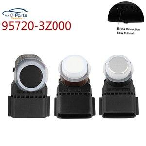 Image 1 - 3 Colors 95720 3Z000 New 95720 3Z000 95720 3N500 95720 2P500 PDC Parking Sensor accessories For Hyundai i40 4MT006KCB 4MT006HCD