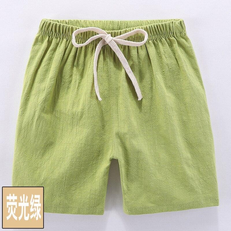 VIDMID boys girls cotton candu color shorts kids children cartoon colorful trousers clothes boys shorts girls trousers 4146 02 4